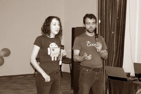 Андрей Липатцев и Мария Моева. Google в гостях у IT-Jump
