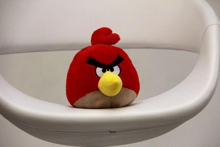 Angry Birds в гостях у Google